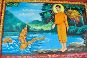 buddha by the riverside
