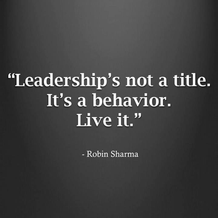 leadership live it